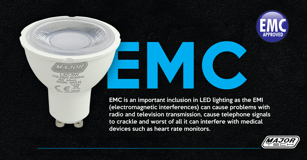 Are your lights and lamps EMC approved?