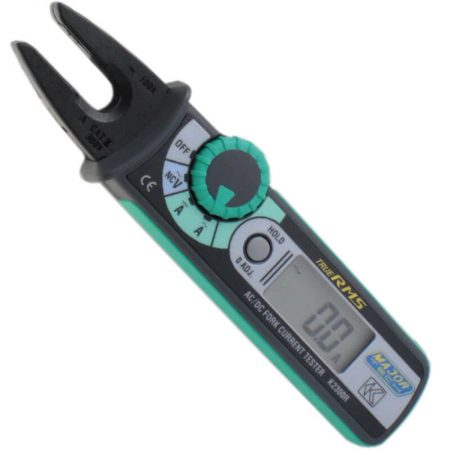 100A Professional AC/DC Open Jaw Clamp Meter