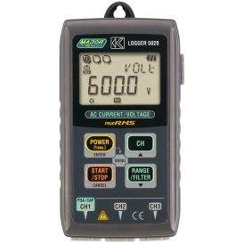True RMS Voltage, Current and Leakage Logger