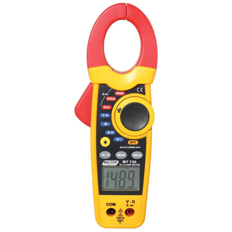 600A Contractor AC Clamp Meter