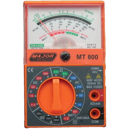 DIY Analogue Multimeter