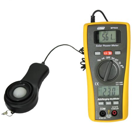 Solar Power Meter and DMM