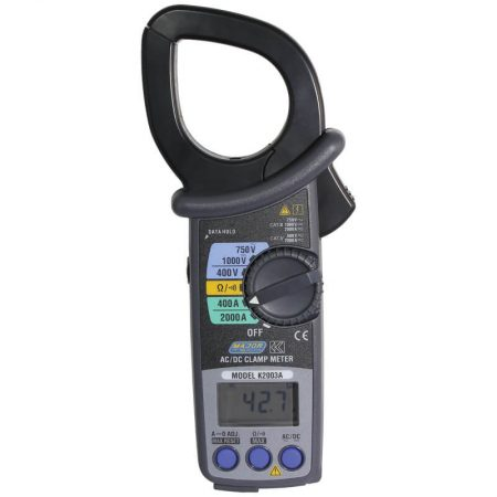 2000A Professional AC/DC Clamp Meter