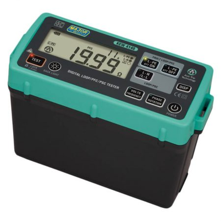 Digital Loop Impedance, PFC and PSC Tester