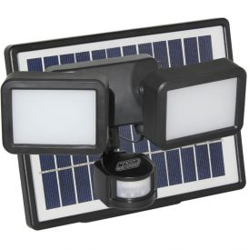 8W Solar LED Floodlight with PIR