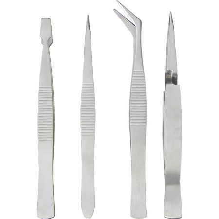 Stainless Steel Tweezer Set