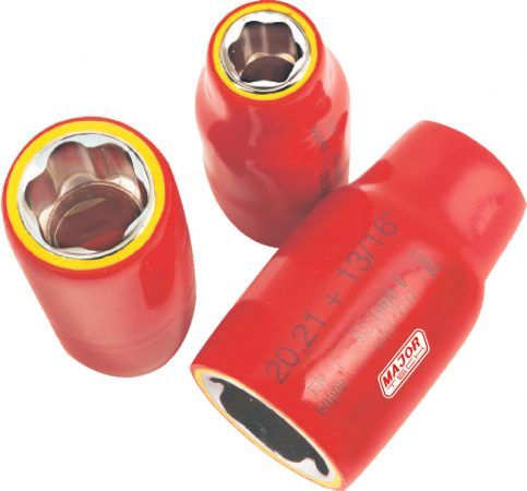 22mm VDE 1/2 Insulated Socket