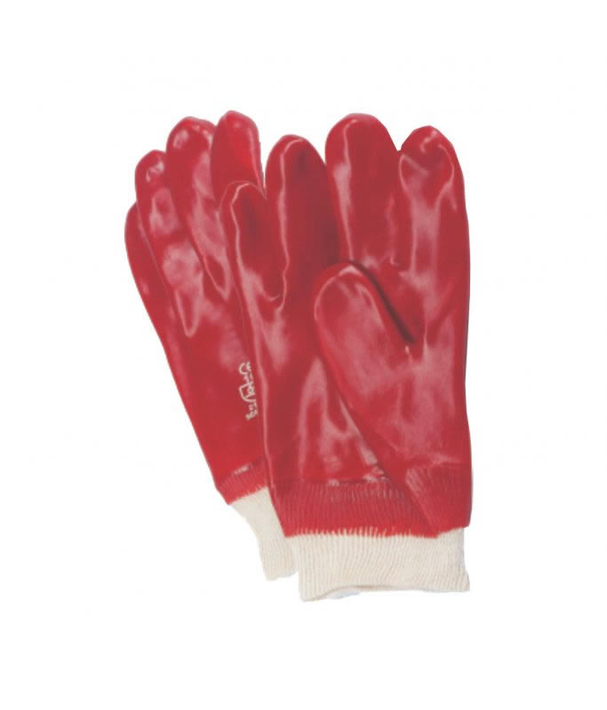 PVC Knitted Wrist Gloves (1 pair)